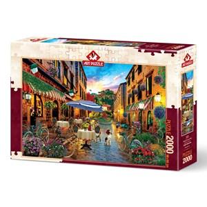 "Art Puzzle (5475) - ""Biking Through Italy"" - 2000 piezas"