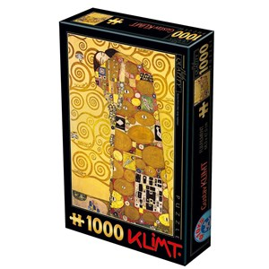 "D-Toys (74560) - Gustav Klimt: ""The Hug"" - 1000 piezas"