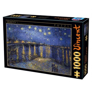 "D-Toys (66916) - Vincent van Gogh: ""Vincent van Gogh, 1889"" - 1000 piezas"