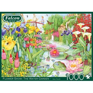 "Buffalo Games (11282) - ""Flower Show, The Water Garden"" - 1000 piezas"