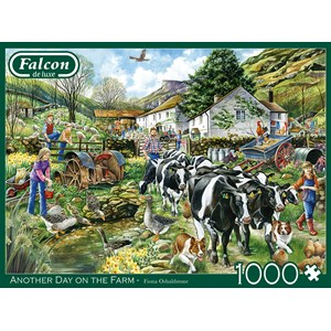 "Falcon (11283) - ""Another Day on the Farm"" - 1000 piezas"
