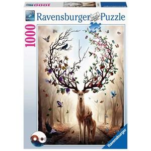 "Ravensburger (15018) - ""Fantasy Deer"" - 1000 piezas"
