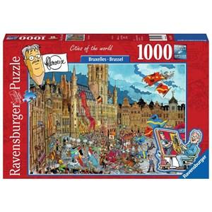 """Ravensburger (15415) - """"Brussels, Belgium"""" - 1000 piezas"""