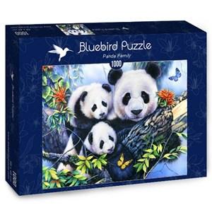 """Bluebird Puzzle (70079) - """"Panda Family"""" - 1000 piezas"""