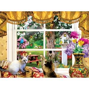 "SunsOut (35094) - Lori Schory: ""Through a Window"" - 1000 piezas"