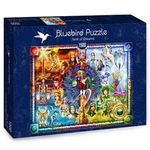 """Bluebird Puzzle (70178) - Ciro Marchetti: """"Tarot of Dreams"""" - 1500 piezas"""
