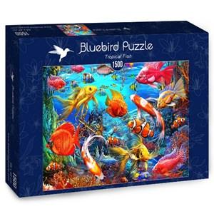 """Bluebird Puzzle (70192) - Ciro Marchetti: """"Tropical Fish"""" - 1500 piezas"""