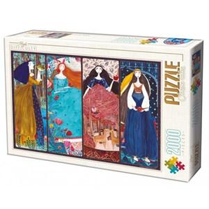 "D-Toys (73860) - Kurti Andrea: ""Collage"" - 2000 piezas"