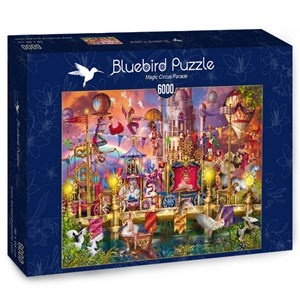 "Bluebird Puzzle (70251) - Ciro Marchetti: ""Magic Circus Parade"" - 6000 piezas"