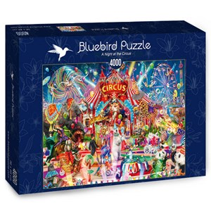 "Bluebird Puzzle (70229) - Aimee Stewart: ""A Night at the Circus"" - 4000 piezas"