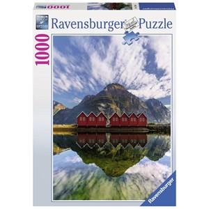 "Ravensburger (15256) - ""Sunndalsora, Norway"" - 1000 piezas"
