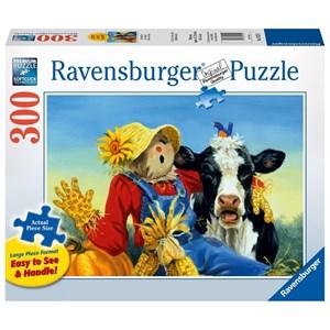"Ravensburger (13222) - Linda Picken: ""Barnyard Duet"" - 300 piezas"
