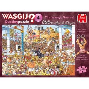 "Jumbo (19178) - ""Retro Destiny 4, The Wasgij Games"" - 1000 piezas"