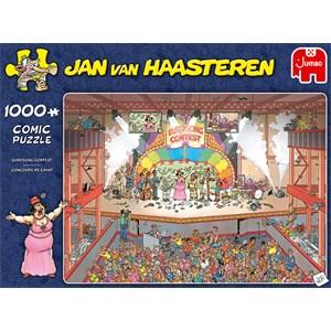 """Jumbo (20025) - Jan van Haasteren: """"Eurosong Contest"""" - 1000 piezas"""