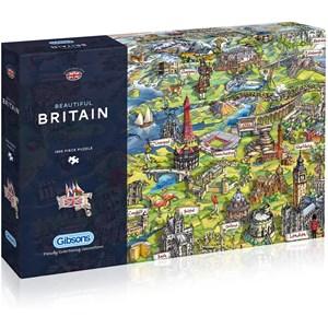 "Gibsons (G7080) - Maria Rabinsky: ""Beautiful Britain"" - 1000 piezas"