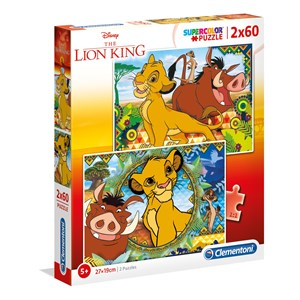 "Clementoni (21604) - ""Disney Lion King"" - 60 piezas"