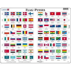 "Larsen (L2-DK) - ""Flag - DK"" - 80 piezas"