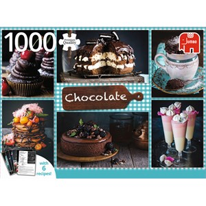 """Jumbo (18593) - """"Chocolate"""" - 1000 piezas"""