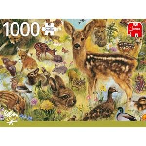 "Jumbo (18819) - ""Young Wildlife"" - 1000 piezas"