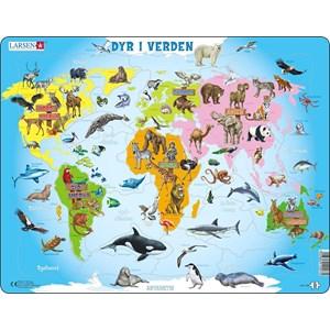 """Larsen (A34-DK) - """"Animals of the World - DK"""" - 28 piezas"""