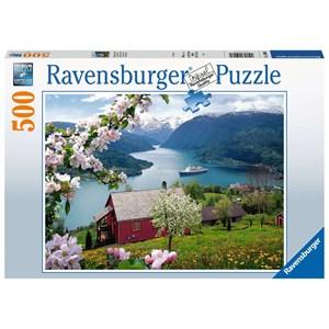 """Ravensburger (15006) - """"Landscape"""" - 500 piezas"""
