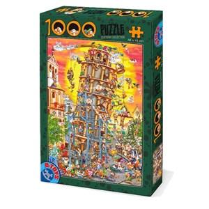 "D-Toys (86121) - ""Pisa Tower"" - 1000 piezas"