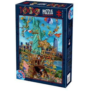 "D-Toys (74706) - ""New York"" - 1000 piezas"