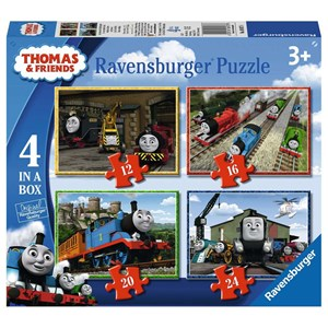 "Ravensburger (06937) - ""Thomas & Friends"" - 12 16 20 24 piezas"