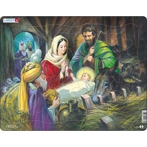 """Larsen (C4) - """"Jesus in the Manger"""" - 33 piezas"""