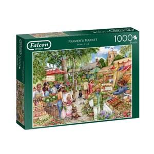 """Falcon (11244) - Debbie Cook: """"Farmer's Market"""" - 1000 piezas"""