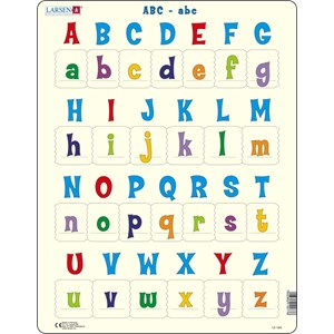 """Larsen (LS1426) - """"All the upper and lower case letter"""" - 26 piezas"""