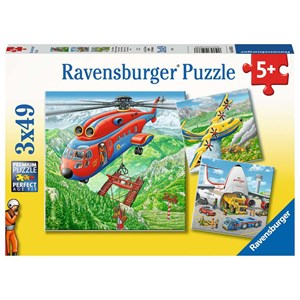 "Ravensburger (05033) - ""Above the clouds"" - 49 piezas"