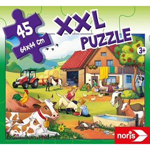 "Noris (606031565) - ""On a Farm"" - 45 piezas"