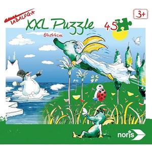 """Noris (606031701) - """"Tabaluga"""" - 45 piezas"""