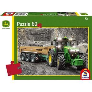"""Schmidt Spiele (56314) - """"John Deere Tractor"""" - 60 piezas"""