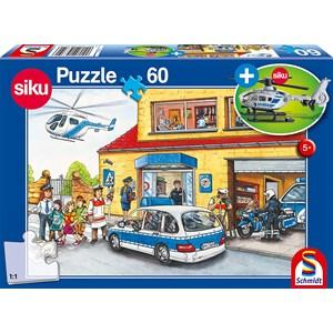 """Schmidt Spiele (56351) - """"Helicopter Puzzle"""" - 60 piezas"""