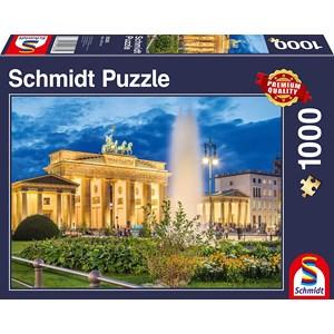 """Schmidt Spiele (58385) - """"Brandenburg Gate, Berlin"""" - 1000 piezas"""