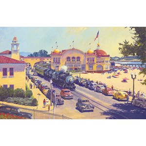 "SunsOut (21110) - John Winfield: ""Santa Cruz"" - 550 piezas"
