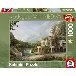 "Schmidt Spiele (59611) - Nadegda Mihailova: ""Palais in The Mountains"" - 1000 piezas"