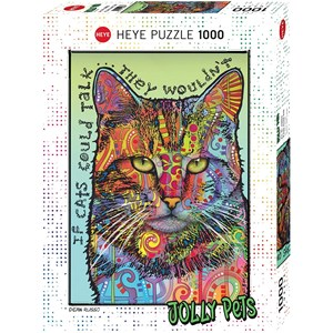 "Heye (29893) - ""If Cats Could Talk"" - 1000 piezas"