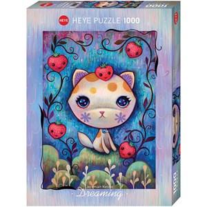 "Heye (29895) - Jeremiah Ketner: ""Strawberry Kitty"" - 1000 piezas"