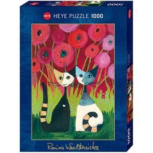 """Heye (29900) - Rosina Wachtmeister: """"Poppy Canopy"""" - 1000 piezas"""