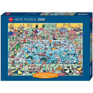 "Heye (29904) - Roger Blachon: ""Cool Down!"" - 1000 piezas"