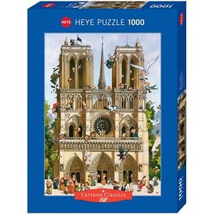 """Heye (29905) - Jean-Jacques Loup: """"Vive Notre Dame!"""" - 1000 piezas"""