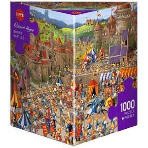 """Heye (29920) - """"Bunny Battles, Ruyer"""" - 1000 piezas"""