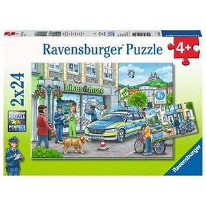 "Ravensburger (05031) - ""Police at Work"" - 24 piezas"