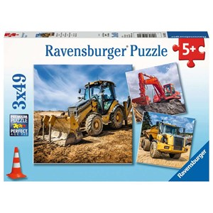"Ravensburger (05032) - ""Diggers at Work"" - 49 piezas"