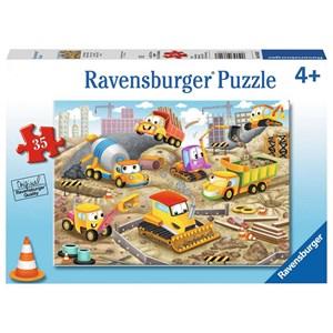 """Ravensburger (08620) - """"Raise The Roof!"""" - 35 piezas"""
