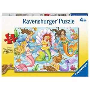"""Ravensburger (08684) - """"Queens of The Ocean"""" - 35 piezas"""