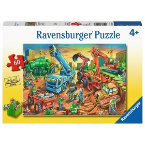 "Ravensburger (09517) - ""Construction Crew"" - 60 piezas"
